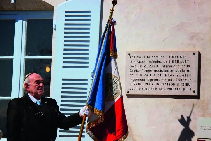 Commémoration rafle du 6 avril 1944 - Izieu lundi 6 avril 2015 (62)