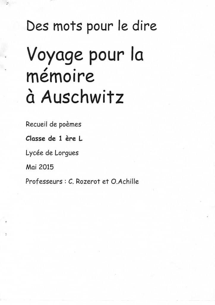 memoire vive 23 recueil de poemes