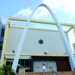Synagogue de Camaguay à 500km de la Havane construire en 19523 par les juifs de Turquie et aujourd